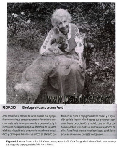 Enfoque afectuoso de Anna Freud